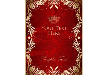 Royal Poster Template - vector gratuit #160533