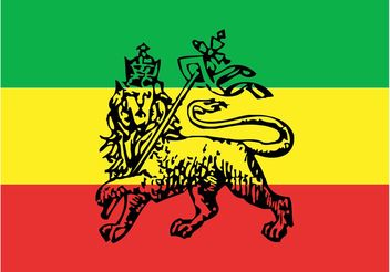 Ethiopian Flag Vector - vector gratuit #160543