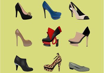 High Heel Fashion - Free vector #160723