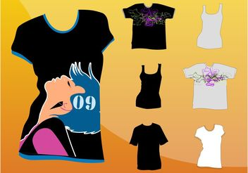 T-Shirt Graphics - Free vector #160833
