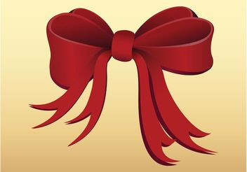 Red Ribbon - vector gratuit #161183