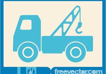 Hooklift Truck Vector - vector #161373 gratis