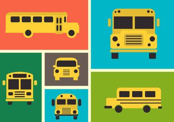 School bus - Free vector #161453