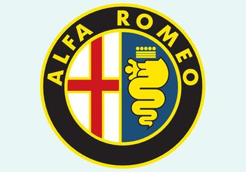 Alfa Romeo Disc Logo - Free vector #161503