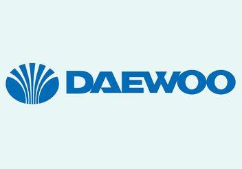 Daewoo Logo - Free vector #161533
