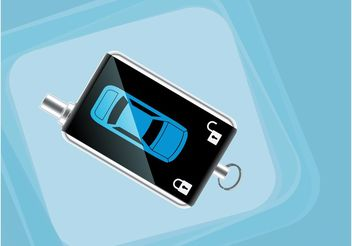 Car Key Remote - Free vector #161753