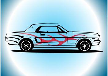 Mustang Vector - бесплатный vector #162053