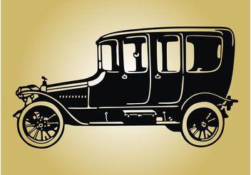 Vintage Car Image - Free vector #162083