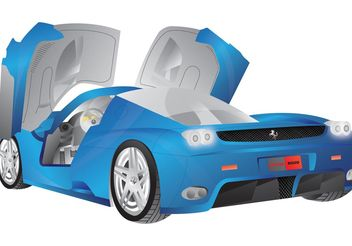 Ferrari Enzo Vector - Free vector #162113