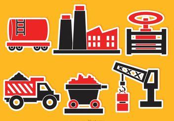 Industrial Vector Icons - vector #162203 gratis
