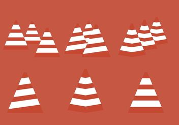 Vector Orange Cone Synthesis - Free vector #162243