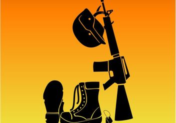 Soldiers Battle Gear - vector #162463 gratis