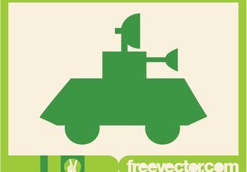 Tank Icon - Free vector #162503
