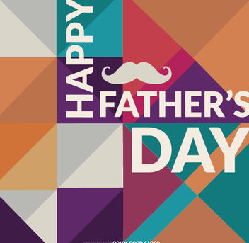 Happy Father's Day - Kostenloses vector #162773