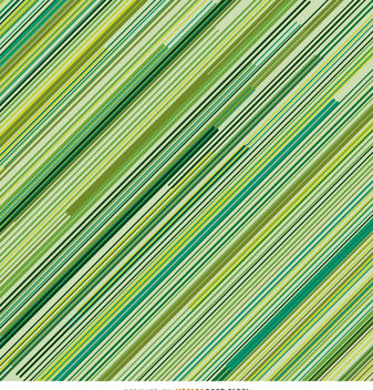 Green Diagonal pinstripes background - vector gratuit #162923
