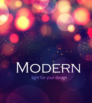 Shiny Bokeh Purple Background - Free vector #163453