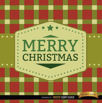 Merry Christmas squares background - vector #165203 gratis