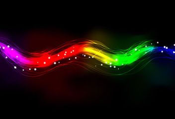 Colorful Neon Spectrum Light Background - Free vector #165553