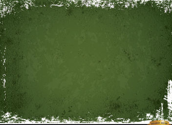Green scratched wall grunge background - vector gratuit #166173