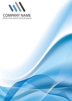 Blue Lines Corporate Background - Free vector #166673