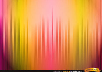 Lighted warm color stripes background - vector #167103 gratis
