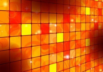 Square Tilled Orange Background - Free vector #167213