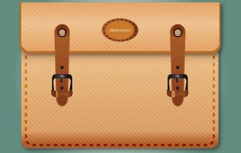 Icon Brown Briefcase - бесплатный vector #168173