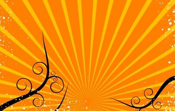 Shining Background with Curly Shape - Free vector #168323