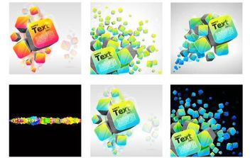 3d Design Elements - Free vector #168743