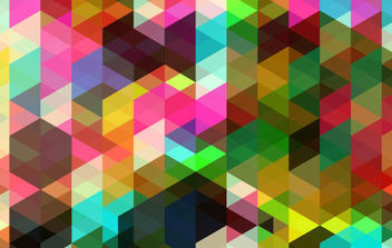 Colored Abstract Vector Art - Kostenloses vector #168873