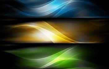 Abstract Banner Background - vector gratuit #169033