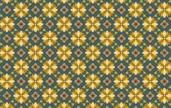 Classic tile pattern vector-7 - Free vector #169373