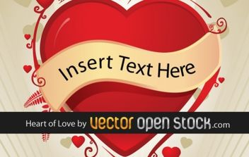 Love Heart - Free vector #169443