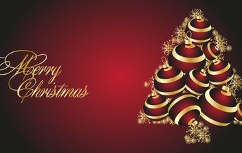 MERRY CHRISTMAS & NEW YEAR 222 - Free vector #169523
