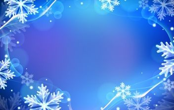 Winter Backgrounds - vector gratuit #169573