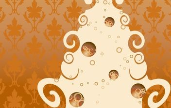 Vintage Christmas free vector - Free vector #169603