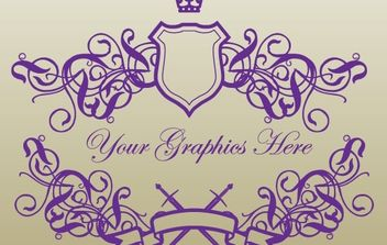 Royal Banner Shields - Free vector #169743