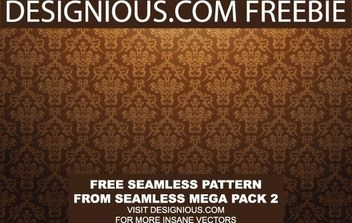Baroq Seamless Pattern - Kostenloses vector #170013
