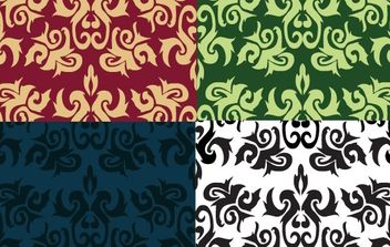 Imperial Leaf Pattern - vector #170073 gratis
