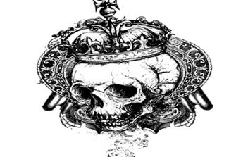 Free vector grunge skull - Free vector #170233