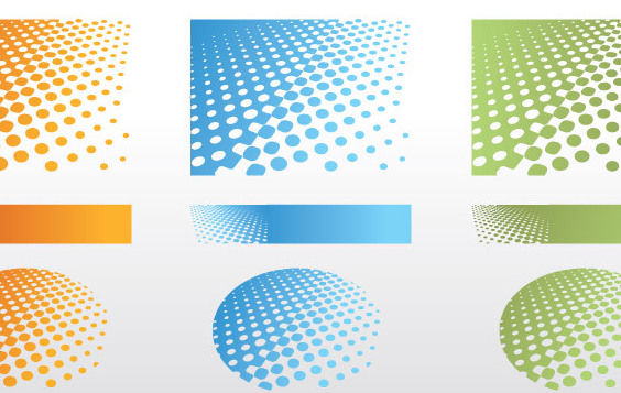 Dotted Background - Free vector #170243