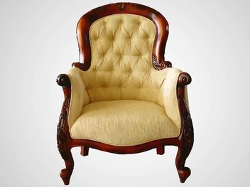 Antique Comfortable Decorative Chair - vector gratuit #170643