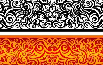 Vintage Curly Swirl Shape - Free vector #170953