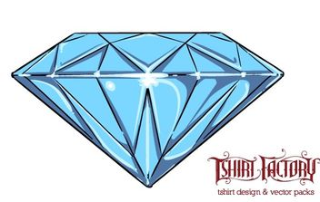 Diamond - vector #171393 gratis