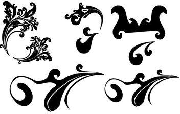 Swirl 3 vectors - Free vector #172563
