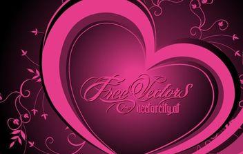 free vector heart - Kostenloses vector #172693