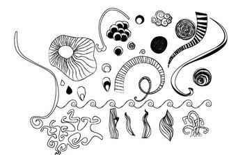 Handdrawn Vector Doodles - Free vector #172783