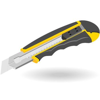 Office knife vector - Kostenloses vector #173253
