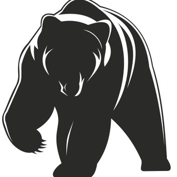 Bear vector - vector gratuit #173363