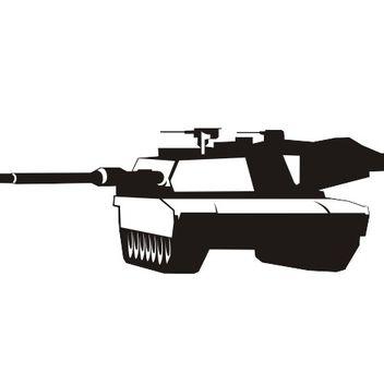 Abrams tank vector - Free vector #173373